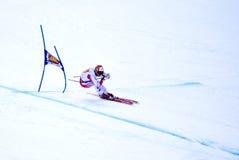 Hannes Reichelt - Fis World Cup. Hannes Reichelt (Austria) - Val Gardena Gröden, Italy - Super G - FIS Alpine Ski World Cup - 19 December 2008 Royalty Free Stock Images