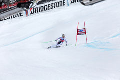 Hannes Reichelt second place Fis world cup Bormio 2013 Royalty Free Stock Image