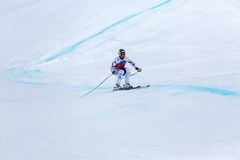 Hannes Reichelt second place Fis world cup Bormio 2013 Stock Photos