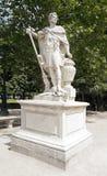 Hannibal, la estatua cartaginesa del rey de Slodtz (1655/1726) Imágenes de archivo libres de regalías