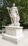 Hannibal, la statue carthaginoise de roi de Slodtz (1655/1726) Images libres de droits