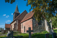 Hanningfield kyrka Royaltyfri Fotografi
