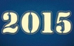 2015 hanno fatto da cuoio Fotografie Stock