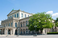 Hannover. Old Opera House - Hannover, Germany Royalty Free Stock Photos