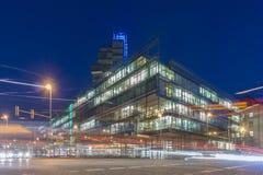 Hannover am Abend Lizenzfreies Stockbild