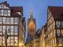 Hannover Altstadt Imágenes de archivo libres de regalías