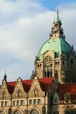 Hannover City Hall Royalty Free Stock Photo