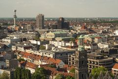 Hannover City Panorama Royalty Free Stock Photos