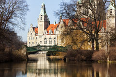 Town hall of Hannover, Germany Royalty Free Stock Photo