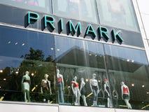 Primark logo sign on storefront Royalty Free Stock Images