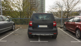 Free HANNOVER, GERMANY - OCTOBER 15, 2014: Bad Parking. Stock Photos - 45657143