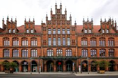View of the Old Town Hall royalty free stock photography