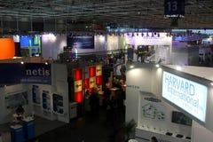 Hall 13 of the CEBIT computer expo Stock Photo