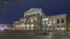 Hannover Opera House at Night Stock Photo
