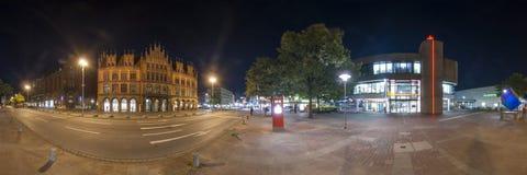 Hannover. Panorama de 360 grados. Imagen de archivo libre de regalías