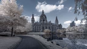 Hannover Rathaus Royalty Free Stock Image