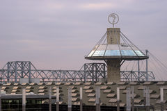 Hannover-Rummelplatz Lizenzfreies Stockfoto