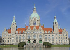 Hannover. Town hall in Hannover, germany Royalty Free Stock Photography
