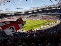 Hannover vs Düsseldorf Stock Image