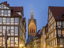 Hannovre Altstadt Images libres de droits