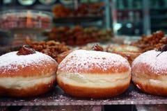 Hannuka Donuts Στοκ εικόνες με δικαίωμα ελεύθερης χρήσης