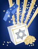 Hannukah Gift Royalty Free Stock Photo