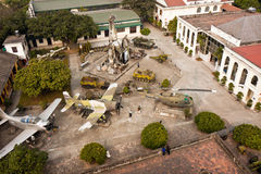 Hanoi Army Museum Yard. US military planes at the Hanoi Army Museum, Vietnam Stock Photography