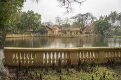 Hanoi Botanical Garden lake Royalty Free Stock Image