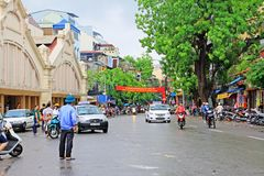 Hanoi Cityscape, Hanoi Vietnam stock images