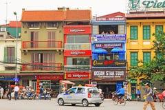 Hanoi Cityscape, Hanoi Vietnam stock image