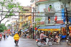 Hanoi Cityscape, Hanoi Vietnam Royalty Free Stock Photos