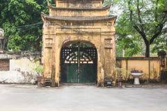 Hanoi Citadel in Vietnam Stock Photography