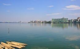 Hanoi city view Stock Images