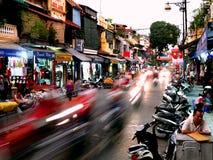 Hanoi citycenter Stock Photo