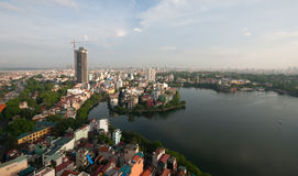 Hanoi Cityscape Stock Photos