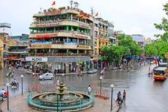 Hanoi Cityscape, Hanoi Vietnam stock photography