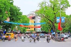 Hanoi Cityscape, Hanoi Vietnam royalty free stock images