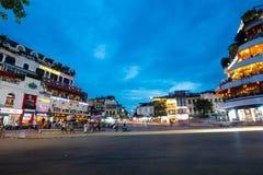 Hanoi Famous Roundabout royalty free stock photography