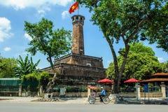 Hanoi flag tower Royalty Free Stock Image