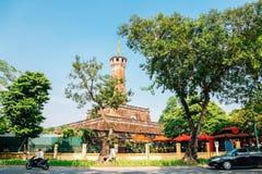 Hanoi flaggatorn på Hanoi, Vietnam arkivfoto