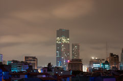 Hanoi-Grenzstein-Kontrollturm Stockfotos