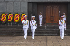 HANOI - Guard of honor Royalty Free Stock Images