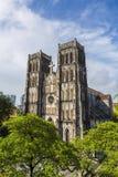 Hanoi-Kirche Stockfotos