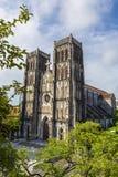 Hanoi-Kirche in altem Lizenzfreie Stockfotografie