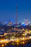 Hanoi at Night Royalty Free Stock Image