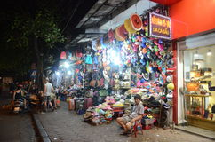 Hanoi by night Royalty Free Stock Photos