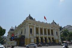 Hanoi opera fotografia royalty free