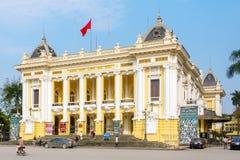 Hanoi operahus Arkivfoton