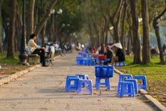 hanoi park Royaltyfri Fotografi