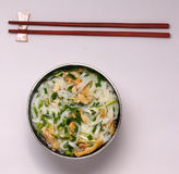 Hanoi pho chicken noodle soup Stock Images